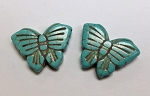 20 x 26 Magnesite Butterfly - Turquoise - 2 qty.