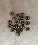 3mm Corrugated Spacer - Antique Brass - 20 qty.