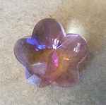 28mm Chinese Crystal Flower – Rose AB- 1 qty.