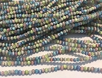 3mm Chinese Cat's Eye Glass Rounds – Multi Pastel Mix – aprx. 125 pcs. per strand, grade A quality