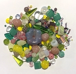 50g Czech Mix w/ Japanese Seed Beads - Lotus Flower