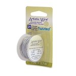 Artistic Wire, 20 Gauge (.81 mm), Twist, Round, Stainless Steel, 3 yd (2.7 m)