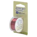 Artistic Wire, 24 Gauge (.51 mm), Burgundy, 10 yd (9.1 m)
