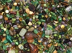 1LB Czech Mix Beads - Forest Mix