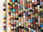 "4mm Mixed Gemstones – 15""–16"" strand"