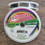 Econoflex Hobby Beading Wire - Very Fine - Assorted Colors - 30 ft.