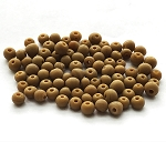 Size 6 Seed Beads – Peanut Butter – 3 tubes