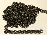 5 x 7mm Antique Brass Cable Chain – Sold by the Foot