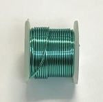Artistic Wire, 22 Gauge (.64 mm), Silver Plated, Seafoam, 5 yd (4.5 m), 1 spool