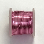 Artistic Wire, 22 Gauge (.64 mm), Silver Plated, Light Pink, 5 yd (4.5 m), 1 spool