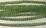 4mm Czech Fire Polish - Peridot Rainbow Iris - 50 qty. - BB