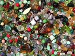1LB Czech Mix Beads - Rose Garden