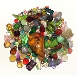 50g Czech Mix w/ Japanese Seed Beads - Rose Garden