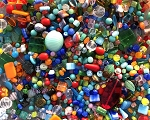 1LB Czech Mix Beads - Summer
