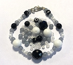 Czech Glass Bracelet Kit - Beads Only - Classic Chic