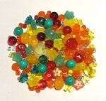 50g Czech Mix w/ Japanese Seed Beads - Tutti Frutti