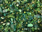 1LB Czech Mix Beads - Leafy Greens