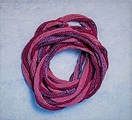 "32-36"" Hand-Dyed Chinese Silk Cord – Raspberry – 1 pc."