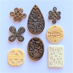Chinese Carved Bone Pendant – Size and Style Varies – 1 pc.