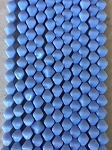 6mm Czech Glass Bicone – Opaque Light Periwinkle – 25 pcs. per strand