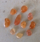 4-6mm Carnelian Chips – 10 pcs.