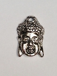 16 x 26mm Pewter Buddha - Antique Silver - 1 qty.