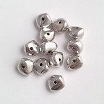 5 x 8mm Pewter Nugget - 12 qty.
