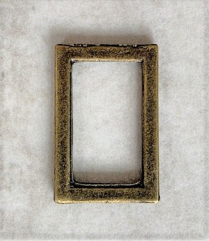 16 x 26mm Antique Brass Rectangle – 1 pc.
